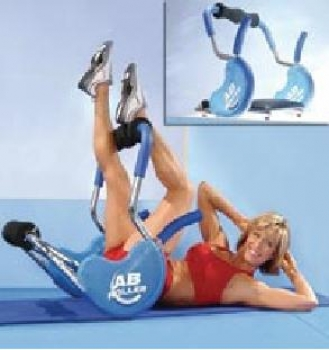 ab crunch roller how to use